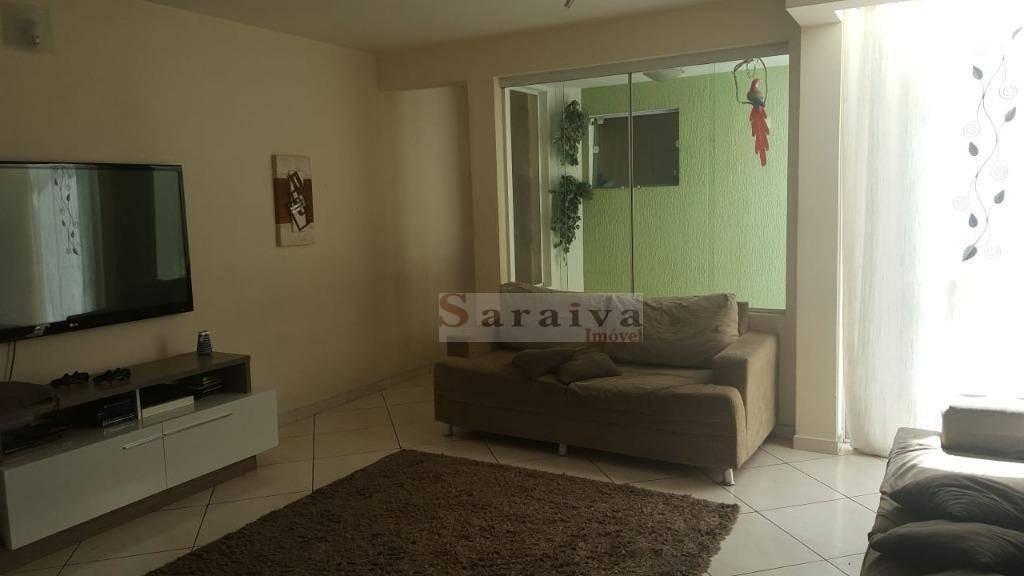 sobrado com 4 dormitórios à venda, 200 m² por r$ 750.000 - assunção - são bernardo do campo/sp - so0396