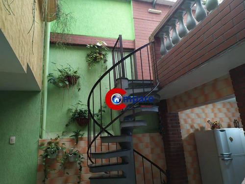 sobrado com 4 dormitórios à venda, 225 m² por r$ 650.000 - jardim vila galvão - guarulhos/sp - so1875