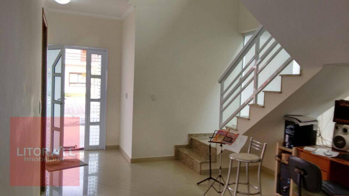 sobrado com 4 dormitórios à venda, 232 m² por r$ 599.000,00 - jardim marcia - peruíbe/sp - so0375