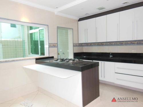 sobrado com 4 dormitórios à venda, 242 m² por r$ 1.250.000 - jardim do mar - são bernardo do campo/sp - so0151