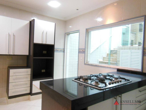 sobrado com 4 dormitórios à venda, 242 m² por r$ 1.250.000,00 - jardim do mar - são bernardo do campo/sp - so0151