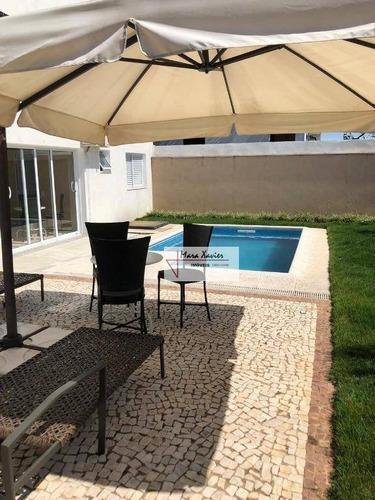 sobrado com 4 dormitórios à venda, 254 m² por r$ 1.300.000 - condomínio morada do bosque - vinhedo/sp - so0656