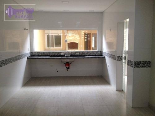 sobrado com 4 dormitórios à venda, 260 m² por r$ 1.250.000,00 - vila santa teresa - santo andré/sp - so0115