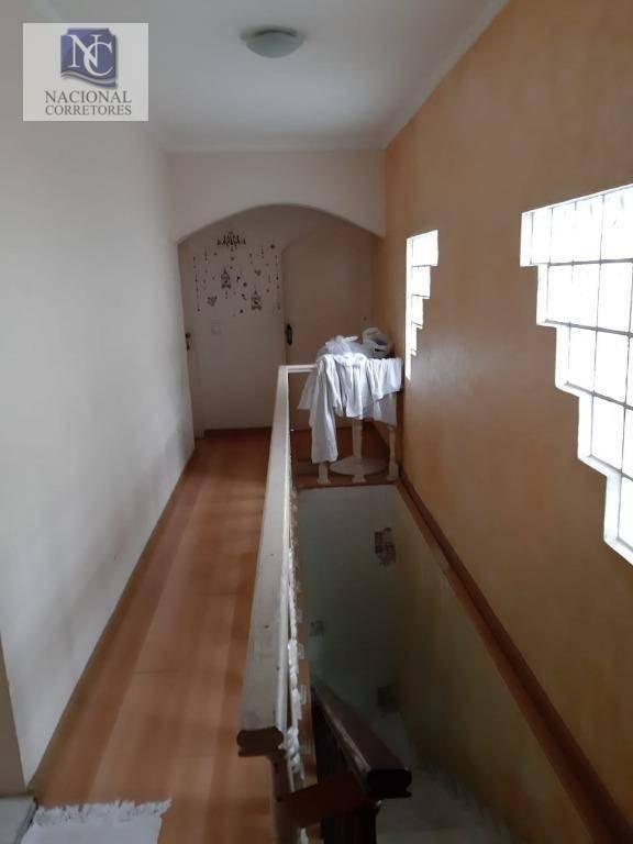 sobrado com 4 dormitórios à venda, 280 m² por r$ 600.000,00 - vila camilópolis - santo andré/sp - so3440
