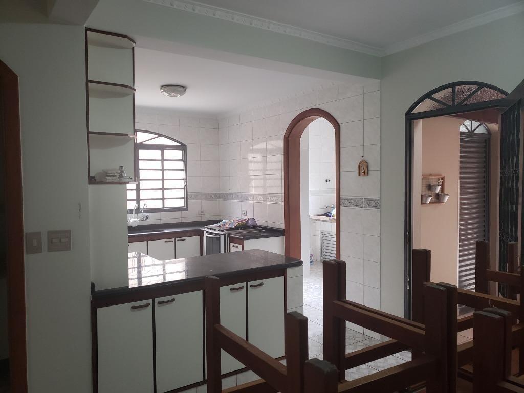 sobrado com 4 dormitórios à venda, 300 m² - vila scarpelli - santo andré/sp - so19549