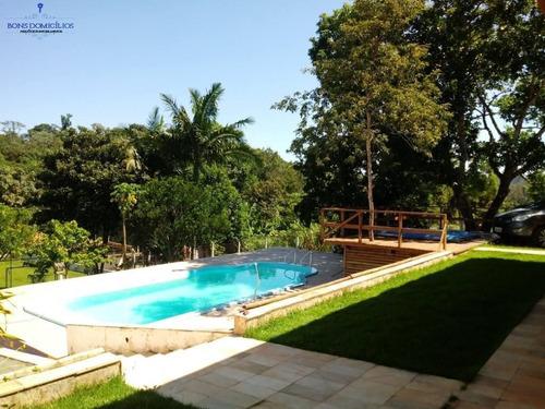 sobrado com 4 dormitórios à venda, 308 m² por r$ 860.000 - portal das águas - ibiúna/sp - ch0018