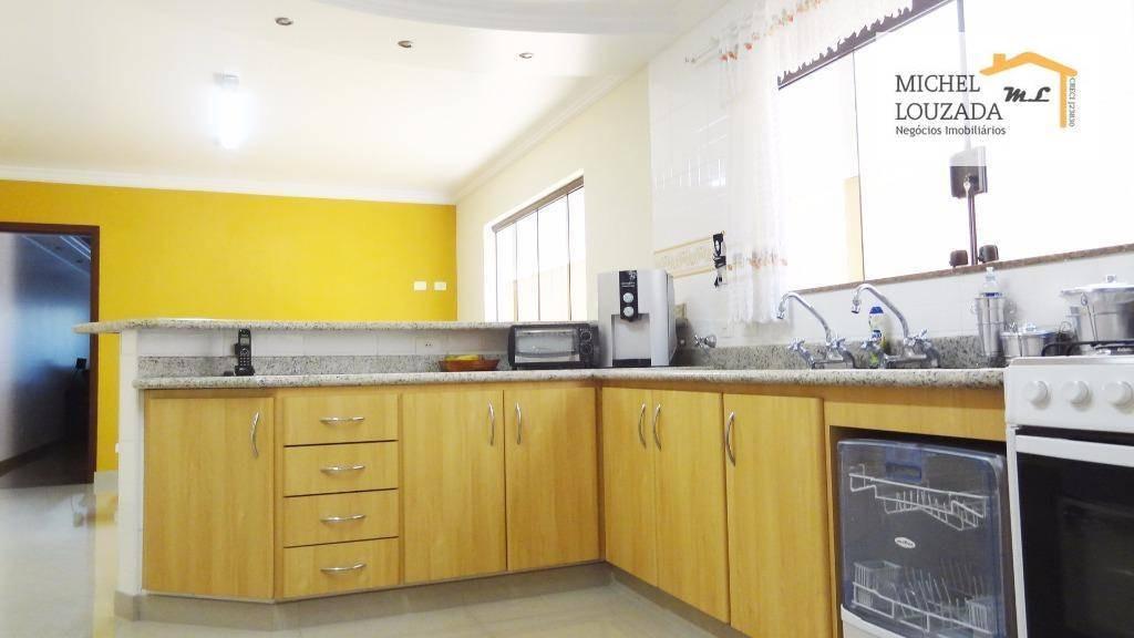 sobrado com 4 dormitórios à venda, 330 m² por r$ 932.000 - vila alpina - são paulo/sp - so0557
