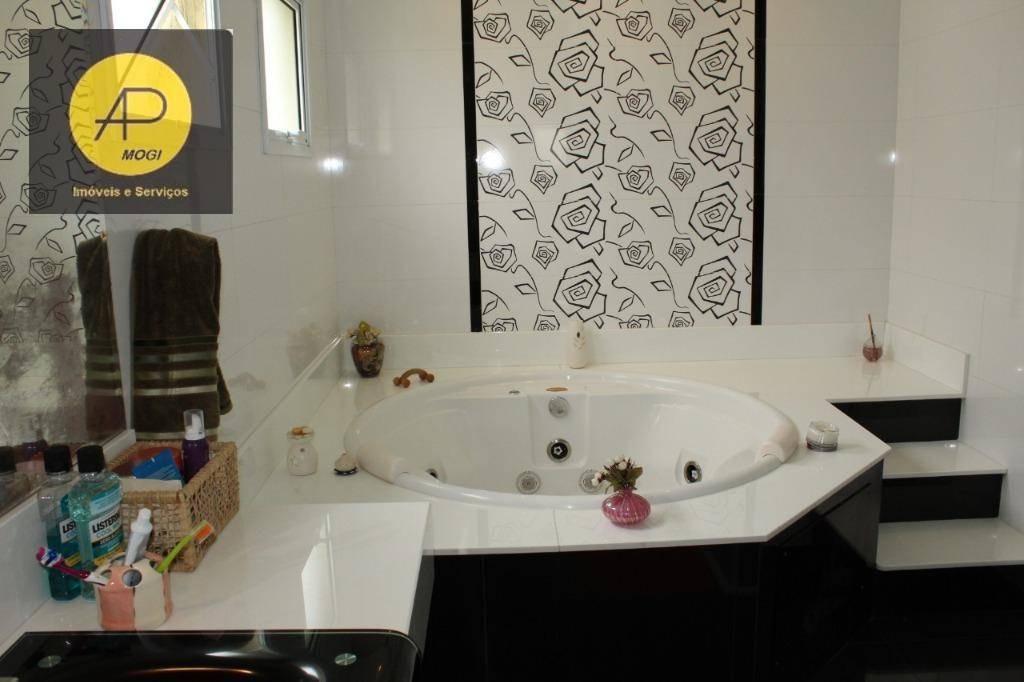 sobrado com 4 dormitórios à venda, 385 m² - aruã eco park - mogi das cruzes/sp - so0101