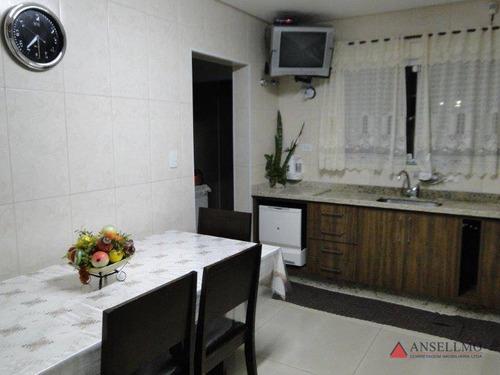 sobrado com 4 dormitórios à venda, 393 m² por r$ 1.400.000,00 - baeta neves - são bernardo do campo/sp - so0235