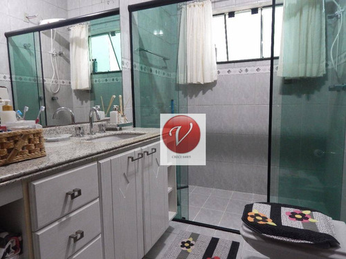 sobrado com 4 dormitórios à venda, 405 m² por r$ 1.400.000 - vila camilópolis - santo andré/sp - so0456