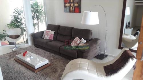 sobrado com 4 dormitórios à venda, 429 m² por r$ 1.810.000 - village mantiqueira - guaratinguetá/sp - so0445