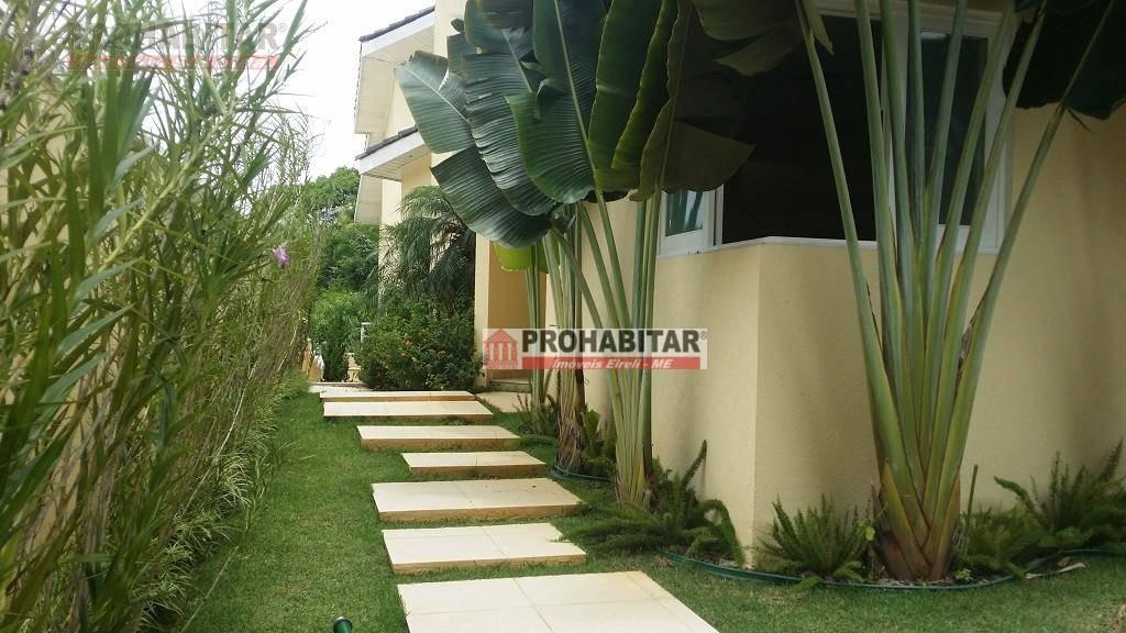 sobrado com 4 dormitórios à venda, 462 m² por r$ 2.500.000,00 - interlagos - são paulo/sp - so0559