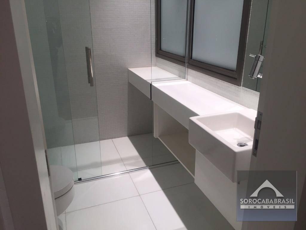 sobrado com 4 dormitórios à venda, 520 m² por r$ 2.500.000,00 - condomínio village sunset - sorocaba/sp - so0139