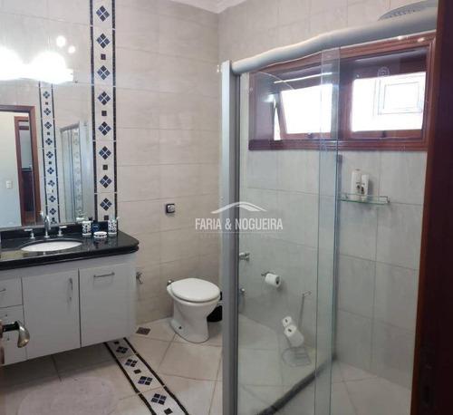 sobrado com 4 suítes à venda, 374 m² por r$ 1.100.000 - centro - rio claro/sp - ca0487