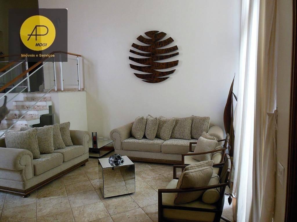 sobrado com 4 suítes à venda, 650 m² - parque residencial itapeti - mogi das cruzes/sp - so0118