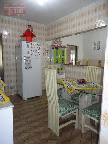 sobrado com 5 dormitórios à venda, 153 m² por r$ 275.000 - jardim aclimação - santo andré/sp - so0713