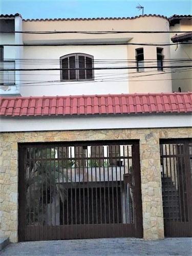 sobrado com 5 dormitórios à venda, 325 m² por r$ 890.000,00 - vila alpina - são paulo/sp - so1136