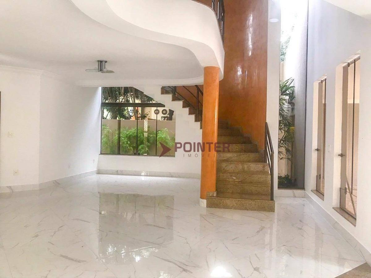 sobrado com 5 dormitórios à venda, 351 m² por r$ 1.900.000 - jardim vila boa - goiânia/go - so0061