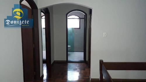 sobrado com 5 dormitórios à venda, 357 m² por r$ 1.070.000 - nova petrópolis - são bernardo do campo/sp - so1932