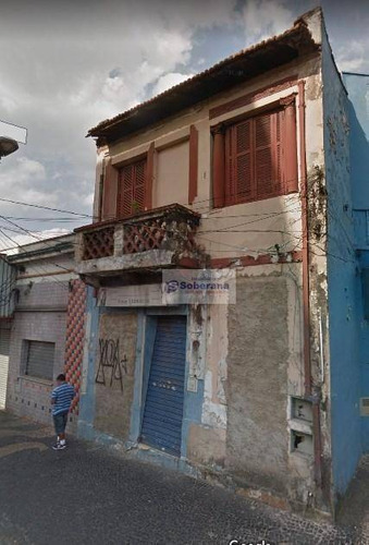 sobrado com 8 dormitórios à venda, 264 m² por r$ 550.000 - centro - campinas/sp - so0086