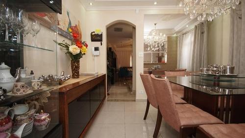 sobrado com piscina  com 3 dormitórios à venda, 230 m² por r$ 980.000 - vila prudente - são paulo/sp - so1747