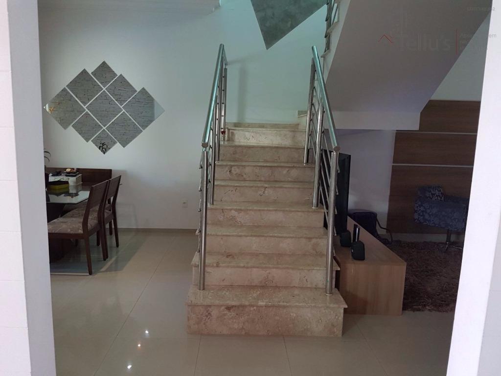 sobrado  com piscina à venda , condomínio ibiti royal park, sorocaba. - ca0966