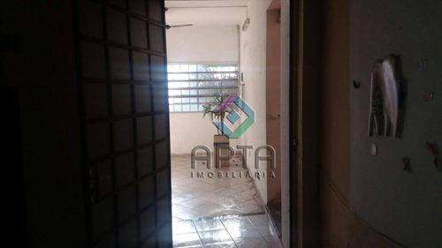 sobrado com salão comercial e parte superior residencial - so0072