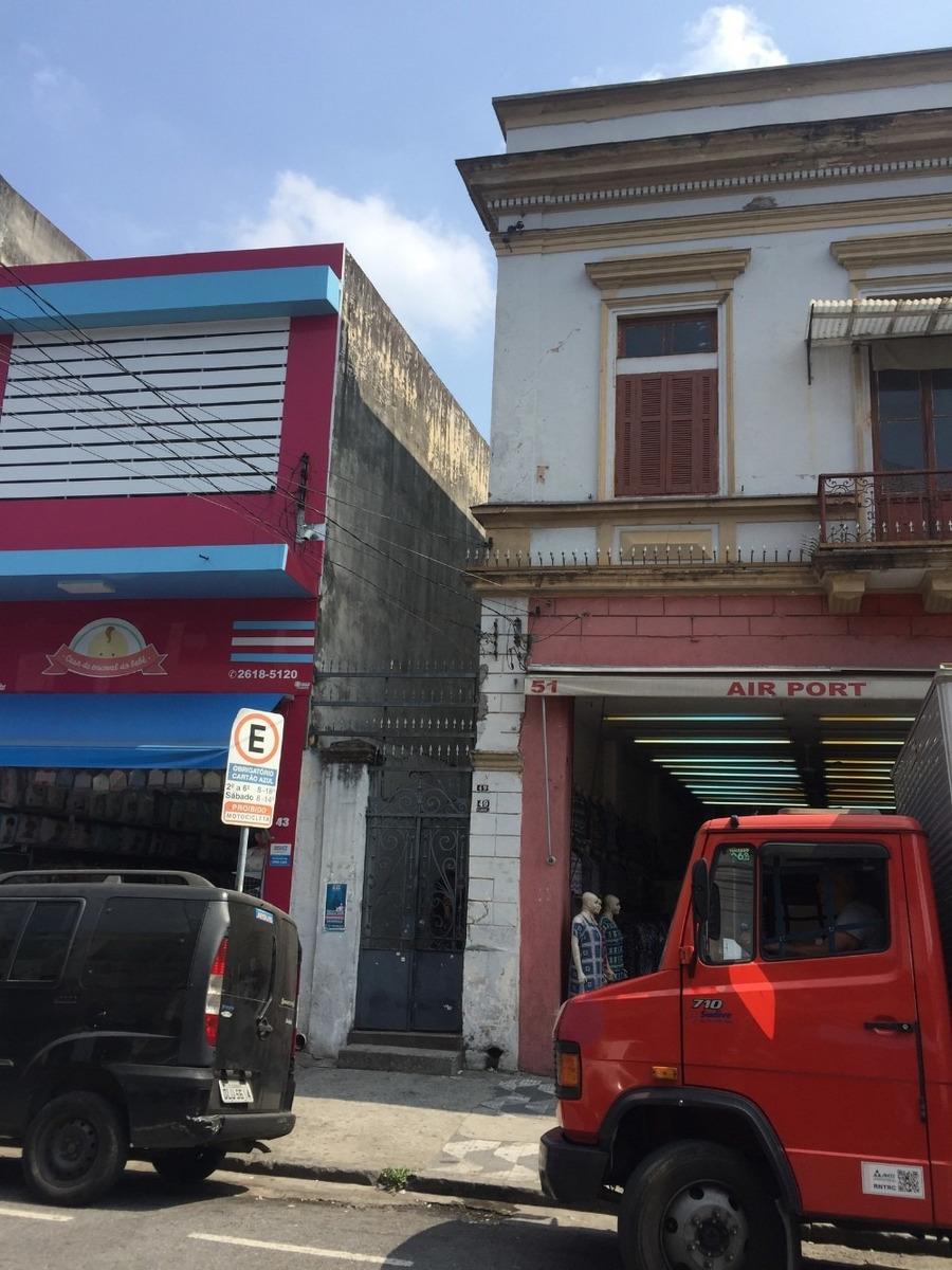 sobrado comercial - brás - maior zona textil do brasil
