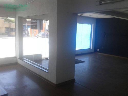sobrado comercial para alugar, 420 m² por r$ 8.000/mês - vila galvão - guarulhos/sp - so1289