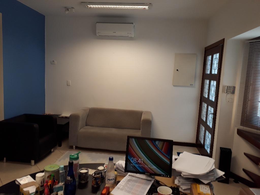 sobrado comercial para locação, campo belo, 140m² com 3 dorm., sendo uma suite, sala para 3 ambientes, copa/cozinha, 1 vaga - so1533