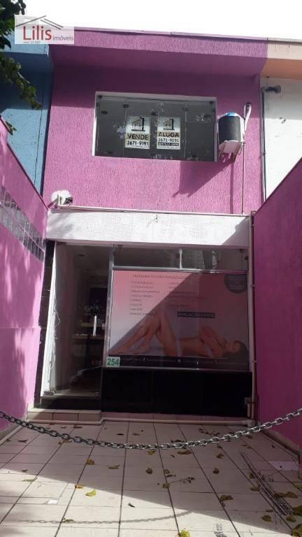 sobrado comércio ou residência  3 dormitórios, anália franco - so0065