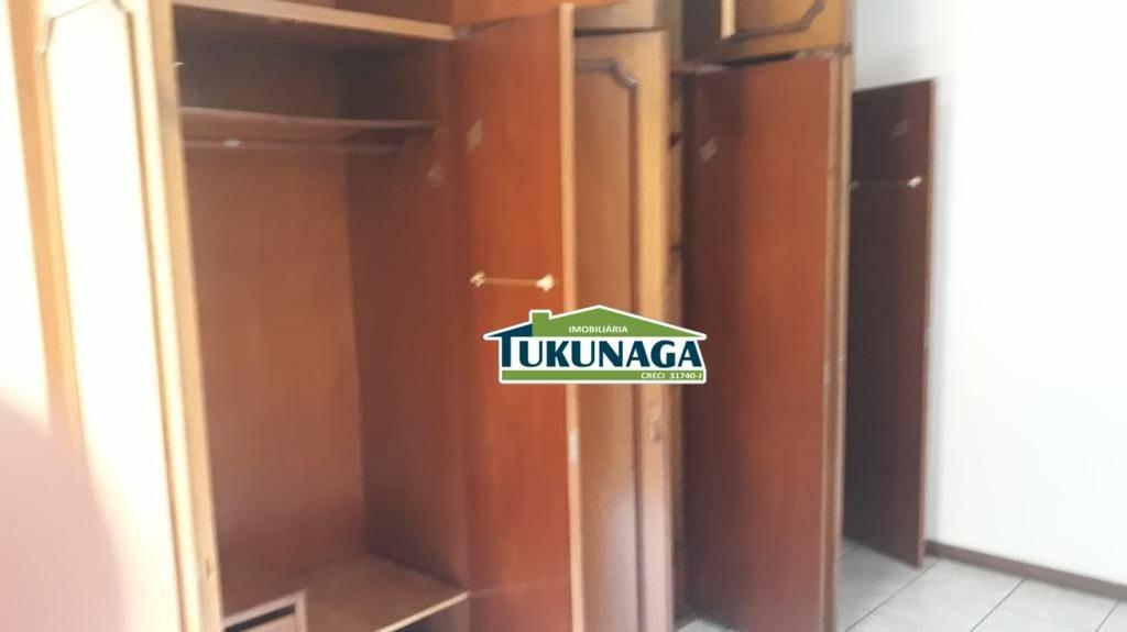 sobrado continental 1 com 3 dormitórios para alugar, 170 m² por r$ 2.000/mês - parque continental i - guarulhos/sp - so0408