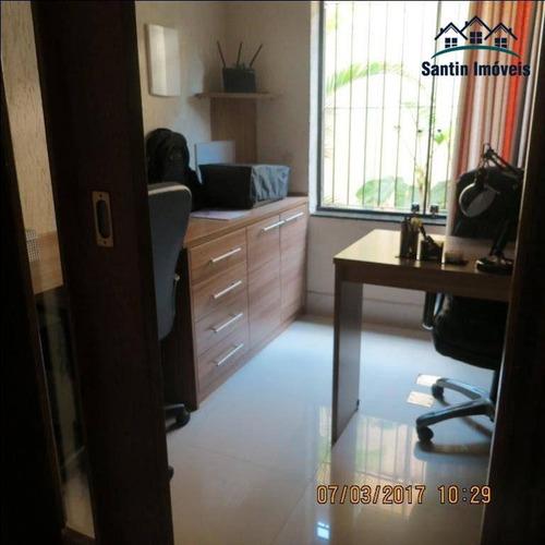 sobrado de 268 m² com 03 dormitórios (sendo 03 suítes) à venda, por r$ 1.010.000 - parque são diogo - são bernardo do campo/sp - so0261