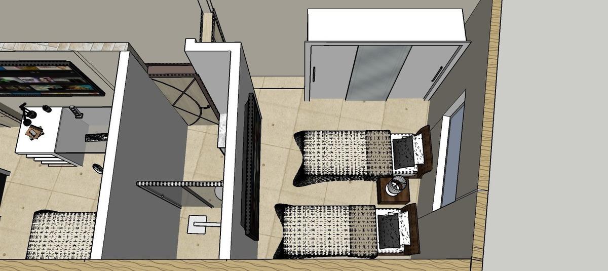 sobrado de 3 dormitórios individual na vila guilhermina/pg