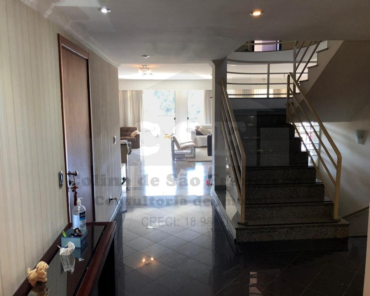 sobrado de 583m² 4 dormitórios parque dos príncipes - ca04631 - 68023580