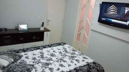 sobrado de alto padrão em condomínio fechado, 100m², 3 dormitórios, 1 suíte, 2 vagas, villagio maia - aceita permuta. - so0038