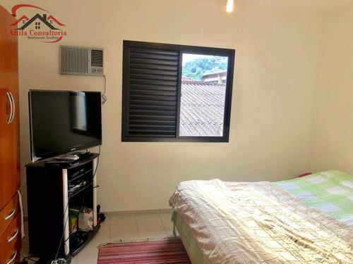 sobrado de condomínio com 2 dorms, enseada, guarujá - r$ 310 mil, cod: 193 - v193