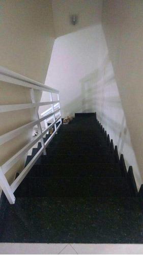 sobrado de condomínio com 2 dorms, esplanada dos barreiros, são vicente - r$ 275 mil, cod: 509 - v509