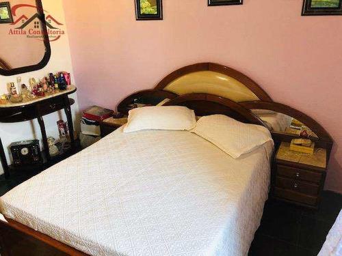 sobrado de condomínio com 2 dorms, jardim praiano, guarujá - r$ 215.000,00, 58m² - codigo: 184 - v184