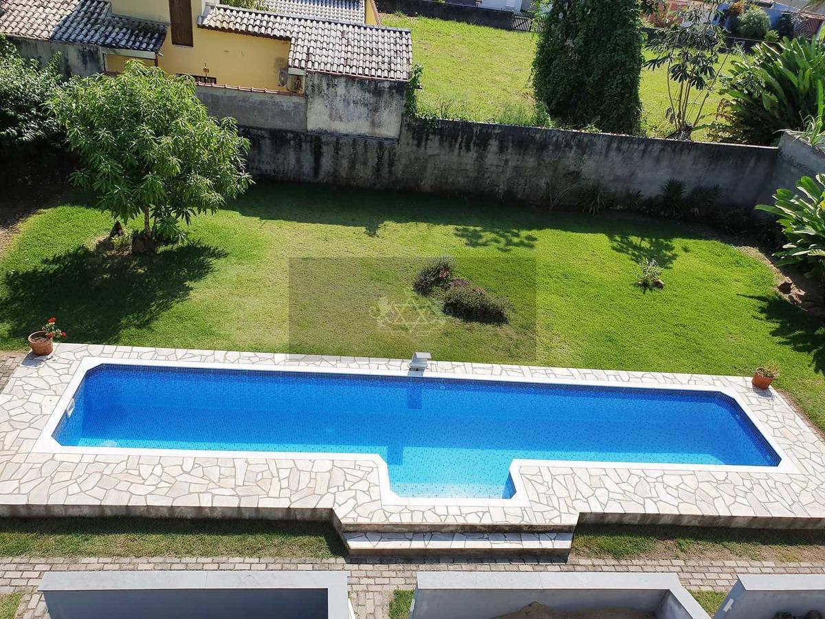sobrado de condomínio com 3 dorms, jardim britânia, caraguatatuba - r$ 390 mil, cod: 555 - v555