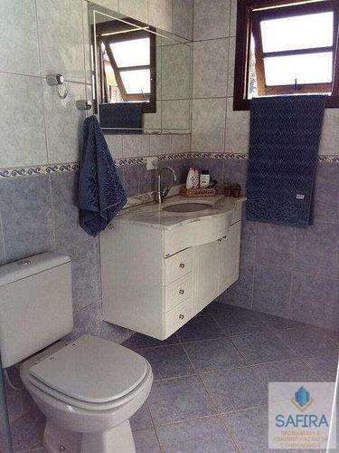 sobrado de condomínio com 3 dorms, parque residencial itapeti, mogi das cruzes - r$ 600.000,00, 0m² - codigo: 828 - v828