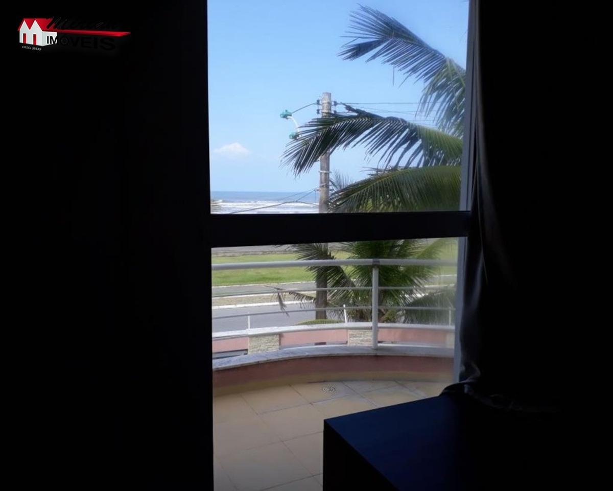 sobrado de frente para o mar com 3 pavimentos em bairro nobre 4 dormitórios sendo 2 suítes com armários planejados e suíte master com hidromassagem,sala de estar ,sala de jantar ,s - ca01008 - 331131