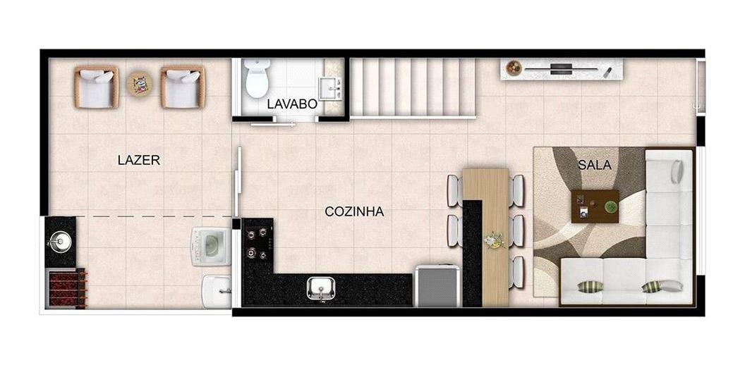 sobrado em condomínio fechado - 345-im392660