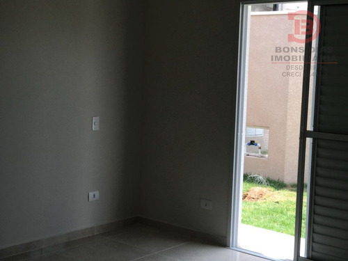 sobrado em condominio - nova gardenia - ref: 5967 - v-5967