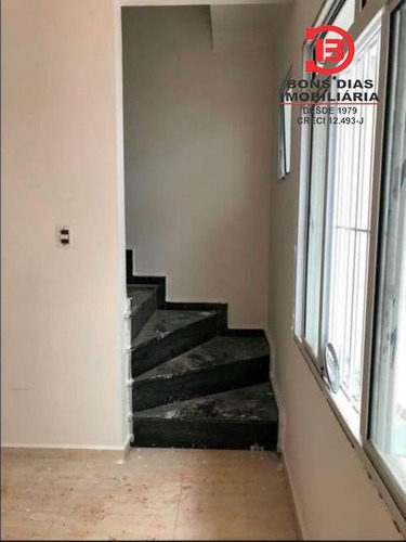 sobrado em condominio - vila araguaia - ref: 4787 - v-4787