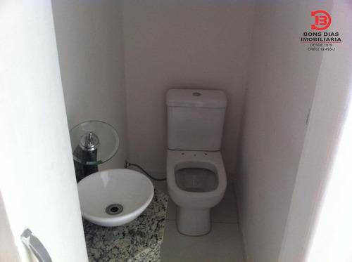 sobrado em condominio - vila esperanca - ref: 3279 - v-3279