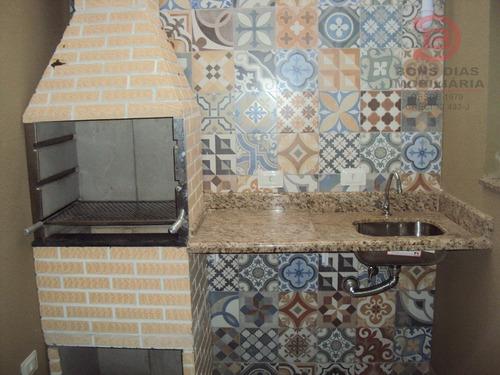 sobrado em condominio - vila esperanca - ref: 5691 - v-5691