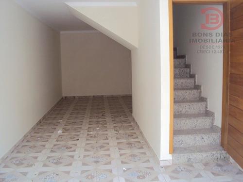 sobrado em condominio - vila esperanca - ref: 5709 - v-5709