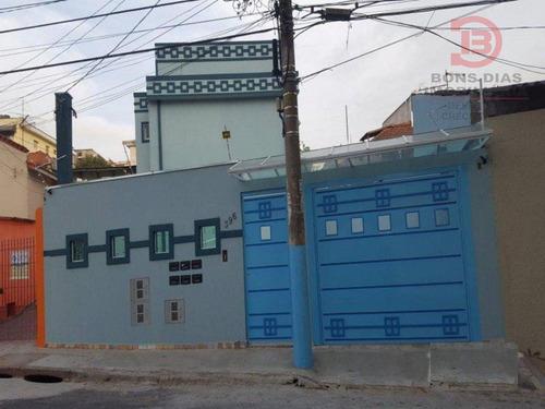 sobrado em condominio - vila mesquita - ref: 5739 - v-5739