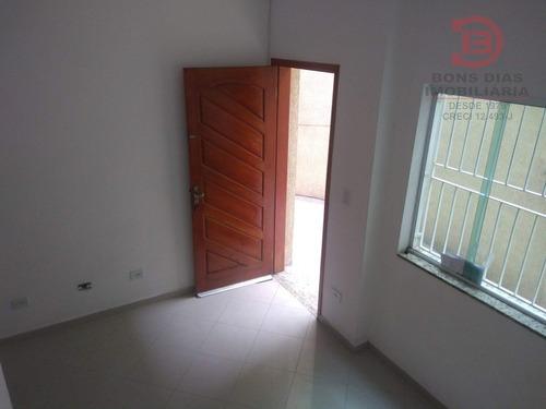 sobrado em condominio - vila mesquita - ref: 6631 - v-6631